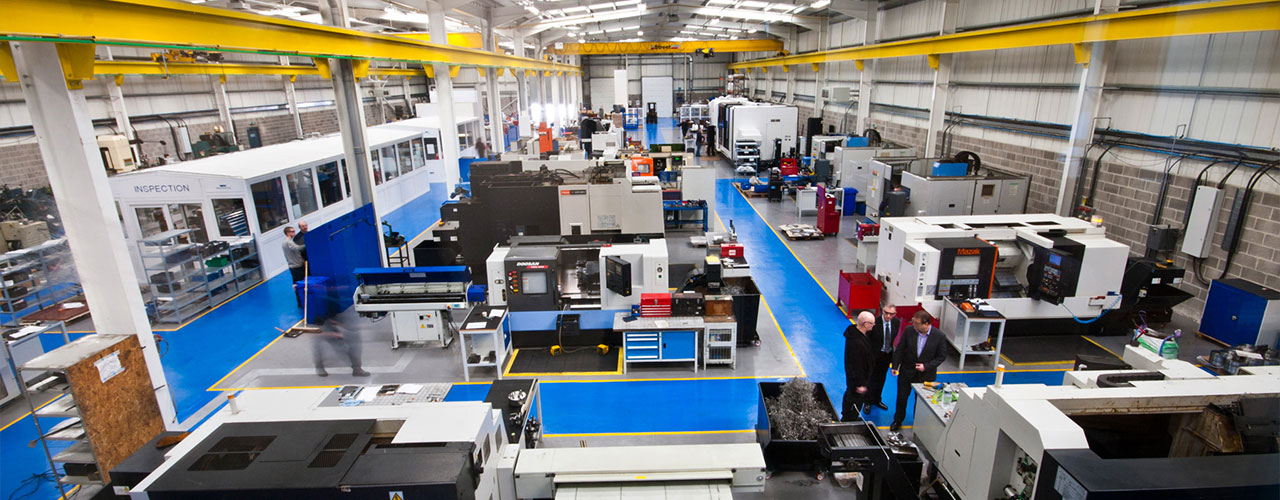 WEC Machining facility in Blackburn
