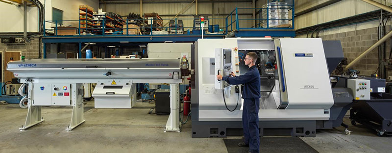Continuous investments at WEC Blackburn with our second Citizen Miyano ABX64